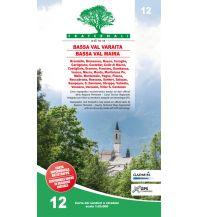 Wanderkarten Italien Fraternali-Wanderkarte 12, Bassa Val Varaita - Bassa Val Maira 1:25.000 Fraternali Editore