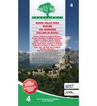 Wanderkarten Fraternali-Wanderkarte 4, Bassa Valle Susa 1:25.000 Fraternali Editore