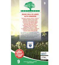 Wanderkarten Italien Fraternali-Wanderkarte 9, Basse Valli di Lanzo, Alto Canavese 1:25.000 Fraternali Editore