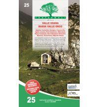 Wanderkarten Italien Fraternali-Wanderkarte 25, Valle Soana, Bassa Valle Orco 1:25.000 Fraternali Editore