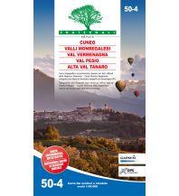 Wanderkarten Italien Fraternali-Wanderkarte 50-4, Val Vermenagna, Valle Pesio, Cuneo 1:50.000 Fraternali Editore