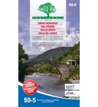Wanderkarten Italien Fraternali-Wanderkarte 50-5, Valli di Lanzo, Valle Orco, Val Soana 1:50.000 Fraternali Editore