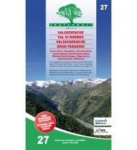 Wanderkarten Italien Fraternali-Wanderkarte 27, Valgrisenche, Valle di Rhêmes, Valsavaranche 1:25.000 Fraternali Editore
