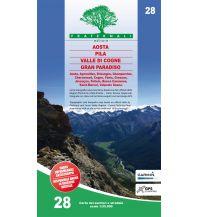 Wanderkarten Italien Fraternali-Wanderkarte 28, Valle di Cogne, Pila, Aosta 1:25.000 Fraternali Editore