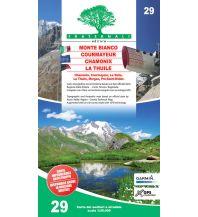 Wanderkarten Italien Fraternali-Wanderkarte 29, Monte Bianco, Courmayeur, Chamonix, La Thuile 1:25.000 Fraternali Editore