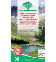 Wanderkarten Italien Fraternali-Wanderkarte 30, Gran San Bernardo, Valle di Ollomont 1:25.000 Fraternali Editore