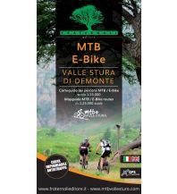 Mountainbike-Touren - Mountainbikekarten Fraternali MTB & E-Bike Map Valle Stura di Demonte 1:25.000 Fraternali Editore
