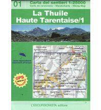 Wanderkarten Italien Escursionista-Karte 01, La Thuile, Haute Tarentaise 1:25.000 L'Escursionista