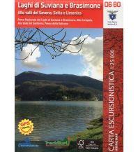 Wanderkarten Apennin Guida al Territorio 06-BO, Laghi di Suviana e Brasimone 1:25.000 L'Escursionista