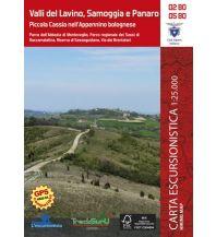 Wanderkarten Apennin Guida al Territorio 02-BO, 05-BO Italien - Valli del Lavino, Samoggia e Panaro 1:25.000 L'Escursionista