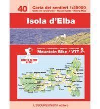Mountainbike-Touren - Mountainbikekarten Escursionista-Karte 40, Isola d'Elba 1:25.000 L'Escursionista