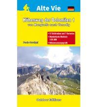 Weitwandern Höhenweg der Dolomiten 1 L'Escursionista