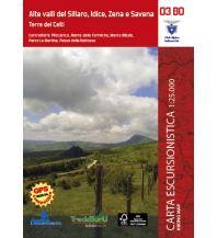 Wanderkarten Apennin Hiking Map 03 BO, Alte valli del Sillaro, Idice, Zena e Savena 1:25.000 L'Escursionista