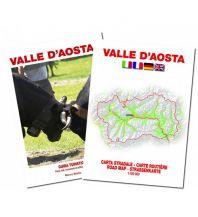 Straßenkarten Straßenkarte Valle d'Aosta/Aostatal 1:100.000 L'Escursionista