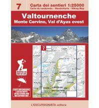 Wanderkarten Italien Escursionista-Karte 7, Valtournenche, Monte Cervino/Matterhorn 1:25.000 L'Escursionista