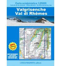 Skitourenkarten Escursionista-Skiwanderkarte Valgrisenche, Val di Rhêmes 1:25.000 L'Escursionista