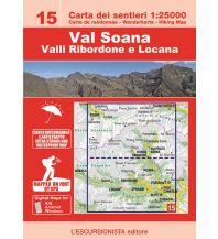 Wanderkarten Italien Escursionista-Karte 15, Val Soana 1:25.000 L'Escursionista