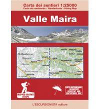 Wanderkarten Italien Escursionista-Karte Valle Maira 1:25.000 L'Escursionista