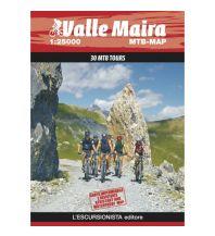 Radkarten L'Escursionista MTB-Map Valle Maira 1:25.000 L'Escursionista
