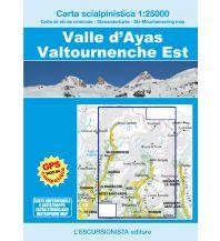 Skitourenkarten Escursionista-Skiwanderkarte Valle d'Ayas, Valtournenche Est 1:25.000 L'Escursionista