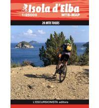 Escursionista MTB-Karte Isola d'Elba 1:25.000 L'Escursionista