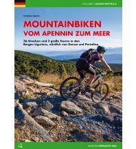 Mountainbike-Touren - Mountainbikekarten Mountainbiken vom Apennin zum Meer (Ligurien) Versante Sud Edizioni Milano