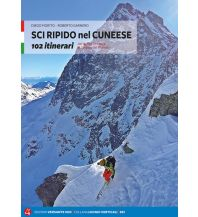 Skitourenführer Italienische Alpen Sci Ripido nel Cuneese Versante Sud Edizioni Milano