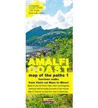 Wanderkarten Italien Zephiro Cart & Guide 1, Amalfi Coast/Amalfiküste 1:10.000 Zephiro
