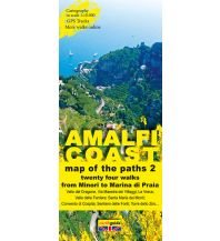 Wanderkarten Italien Zephiro Cart & Guide 2, Amalfi Coast/Amalfiküste 1:10.000 Zephiro