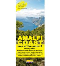 Wanderkarten Italien Zephiro Cart & Guide 3, Amalfi Coast/Amalfiküste 1:10.000 Zephiro