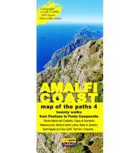 Wanderkarten Italien Zephiro Cart & Guide 4, Amalfi Coast/Amalfiküste 1:10.000 Zephiro