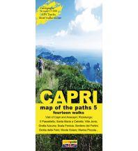 Wanderkarten Italien Zephiro Cart & Guide 5, Capri 1:7.000 Zephiro