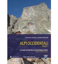 Alpinkletterführer Alpi occidentali (Westalpen), Band 1 Alpine studio