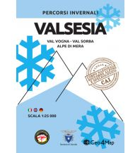 Skitourenkarten Geo4Map Wintersportkarte Italien Alpin - Valsesia 1:25.000 Geo4map