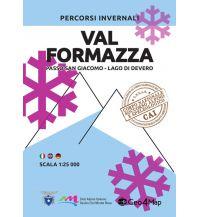 Skitourenkarten Geo4Map Wintersportkarte Val Formazza 1:25.000 Geo4map