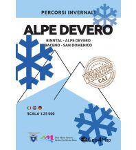 Skitourenkarten Geo4Map Wintersportkarte Alpe Devero 1:25.000 Geo4map