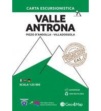 Wanderkarten Italien Geo4Map-Wanderkarte 7, Valle Antrona 1:25.000 Geo4map