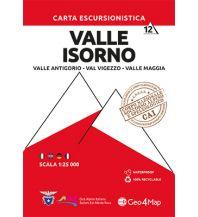 Wanderkarten Schweiz & FL Geo4Map Wanderkarte 12, Valle Isorno 1:25.000 Geo4map