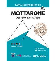 Wanderkarten Geo4Map WK 17 Italien Alpin - Mottarone, Lago d'Orta, Lago Maggiore 1:25.000 Geo4map