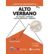 Wanderkarten Italien Geo4Map Wanderkarte 15, Alto Verbano 1:25.000 Geo4map