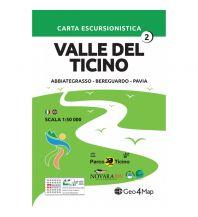 Wanderkarten Italien Geo4Map-Wanderkarte Valle del Ticino 2, 1:50.000 Geo4map