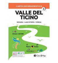 Wanderkarten Italien Geo4Map Wanderkarte Valle del Ticino 3, 1:50.000 Geo4map