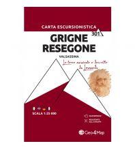 Wanderkarten Italien Geo4Map-Wanderkarte 301, Grigne, Resegone 1:25.000 Geo4map