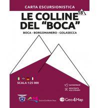 "Geo4Map WK 18 Italien Alpin - Le Colline del ""Boca"" 1:25.000 Geo4map"