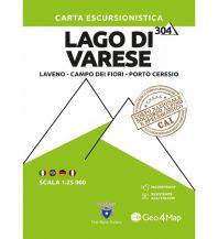 Geo4Map WK 304 Italien Alpin - Lago di Varese 1:25.000 Geo4map