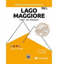 Geo4Map Wanderkarte 305, Lago Maggiore 1:25.000 Geo4map