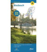 Revierführer Binnen ANWB Waterkaart N 2018/2019 - Biesbosch 1:25.000 ANWB