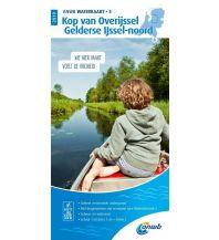 Revierführer Binnen ANWB Waterkaart 5 - Kop van Overijssel / Gelderse Ijssel-Noord 1:50.000 ANWB