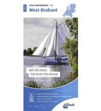 Revierführer Binnen ANWB Waterkaart 13 - West-Brabant 1:50.000 ANWB