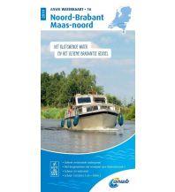 Revierführer Binnen ANWB Waterkaart 16 - Noord-Brabant en Maas-Noord 1:50.000 ANWB